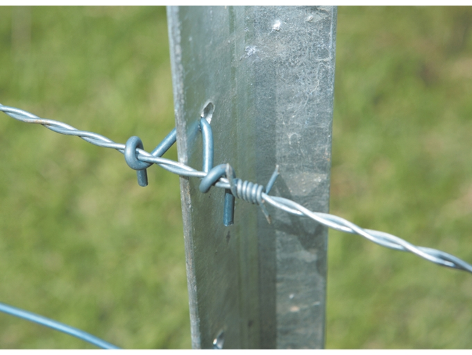 barb wire fence clip - photo #21